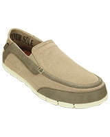 Men's Stretch SoleTorino Tumbleweed/Walnut Loafer 201211 - Crocs