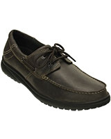 Men's Shaw Boat Shoe Espresso/Black Shoe 202081 - Crocs