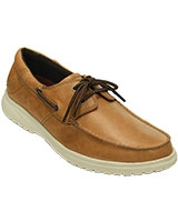 Men's Shaw Boat Shoe Hazelnut/Stucco Shoe 202081 - Crocs