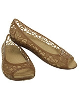 Women's Isabella Jelly W Bronze Flat 203285 - Crocs