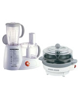Food Processor FX1000 + Egg Cooker EG100 - Black & Decker