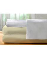Basic Flat bed sheet 144 TC size 240x270 - Comfort