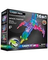 16 In 1 Space Fighter - Laser Pegs