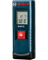 50 Ft. Laser Measure GLM 15 - Bosch