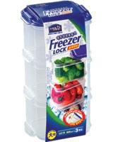 Freezer Lock 600ml x 3 Pieces - Lock & Lock