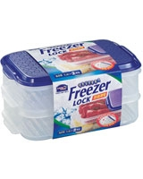 Freezer Lock 1.4L x 2 Pieces - Lock & Lock