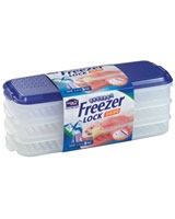 Freezer Lock 1.1L x 3 Pieces - Lock & Lock