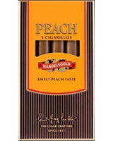 Peach cigarillos 5 cigars - Handels Gold