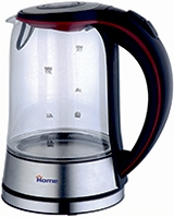 Glass Kettle 1.7 Liter HHB1763 - Home