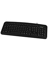Basic Keyboard Black K212 - Hama