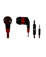 Earphone With Mic & Flat Cable For PC HP031 - e-Train