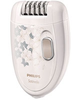 Satinelle Epilator HP6423/00 Legs & body with shaving head - Philips