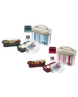 Lunch Box 3 Pieces Set With Lunch Bag and Water Bottle - Lock & Lock