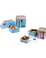 Lunch Box 3 Pieces Set With Lunch Bag - Lock & Lock