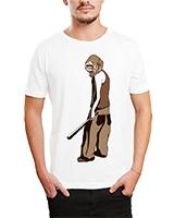 Printed T-Shirt White IB-T-M-C-023 - Ibrand