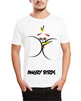 Printed T-Shirt White IB-T-M-C-073 - Ibrand