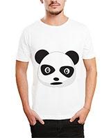Printed T-Shirt White IB-T-M-C-079 - Ibrand