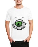 Printed T-Shirt White IB-T-M-C-089 - Ibrand
