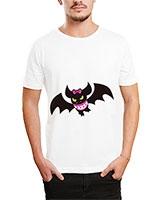 Printed T-Shirt White IB-T-M-C-092 - Ibrand