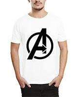 Printed T-Shirt White IB-T-M-C-243 - Ibrand