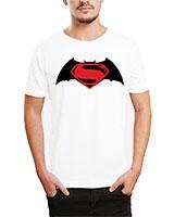 Printed T-Shirt White IB-T-M-C-244-1 - Ibrand