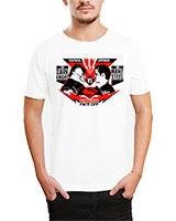 Printed T-Shirt White IB-T-M-C-244 - Ibrand