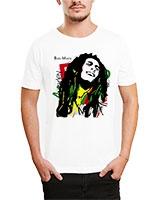Printed T-Shirt White IB-T-M-C-245-1 - Ibrand