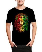 Printed T-Shirt Black IB-T-M-C-245 - Ibrand