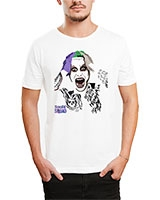 Printed T-Shirt White IB-T-M-C-246 - Ibrand
