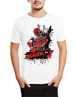 Printed T-Shirt White IB-T-M-C-247-1 - Ibrand