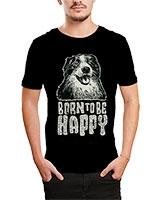 Printed T-Shirt Black IB-T-M-D-020 - Ibrand