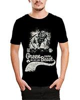 Printed T-Shirt Black IB-T-M-D-023 - Ibrand