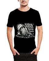 Printed T-Shirt Black IB-T-M-D-024 - Ibrand