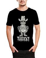 Printed T-Shirt Black IB-T-M-D-030 - Ibrand
