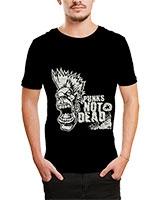 Printed T-Shirt Black IB-T-M-D-031 - Ibrand