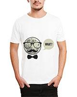 Printed T-Shirt White IB-T-M-D-032 - Ibrand
