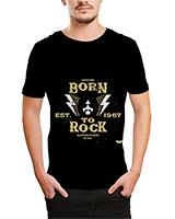 Printed T-Shirt Black IB-T-M-D-034 - Ibrand