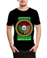 Printed T-Shirt Black IB-T-M-D-046 - Ibrand