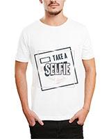 Printed T-Shirt White IB-T-M-D-051 - Ibrand