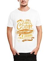 Printed T-Shirt White IB-T-M-D-063 - Ibrand