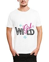 Printed T-Shirt White IB-T-M-D-066 - Ibrand