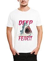 Printed T-Shirt White IB-T-M-D-073 - Ibrand