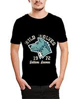 Printed T-Shirt Black IB-T-M-D-074 - Ibrand
