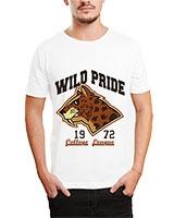 Printed T-Shirt White IB-T-M-D-076 - Ibrand