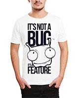 Printed T-Shirt White IB-T-M-D-080 - Ibrand
