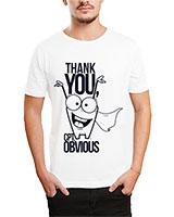 Printed T-Shirt White IB-T-M-D-088 - Ibrand