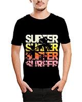 Printed T-Shirt Black IB-T-M-D-106 - Ibrand