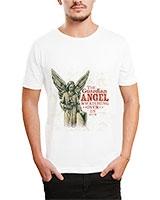 Printed T-Shirt White IB-T-M-D-111 - Ibrand