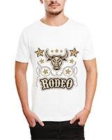 Printed T-Shirt White IB-T-M-D-122 - Ibrand