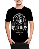 Printed T-Shirt Black IB-T-M-D-128 - Ibrand